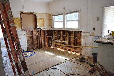 how to organize home reno