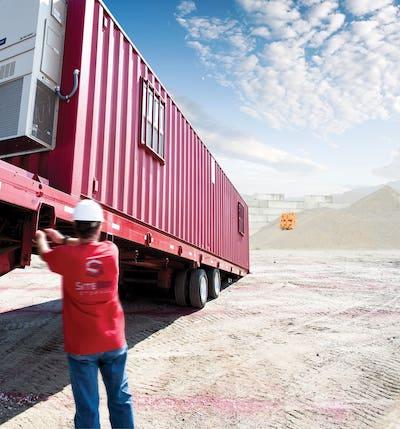 portable storage delivery